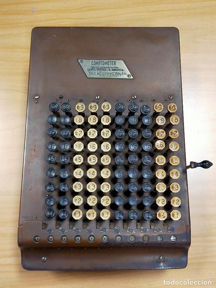CALCULADORA MÁQUINA DE CALCULAR COMPTOMETER 1910 (Antigüedades - Técnicas - Aparatos de Cálculo - Calculadoras Antiguas)