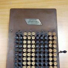 Antigüedades: CALCULADORA MÁQUINA DE CALCULAR COMPTOMETER 1910. Lote 245356880