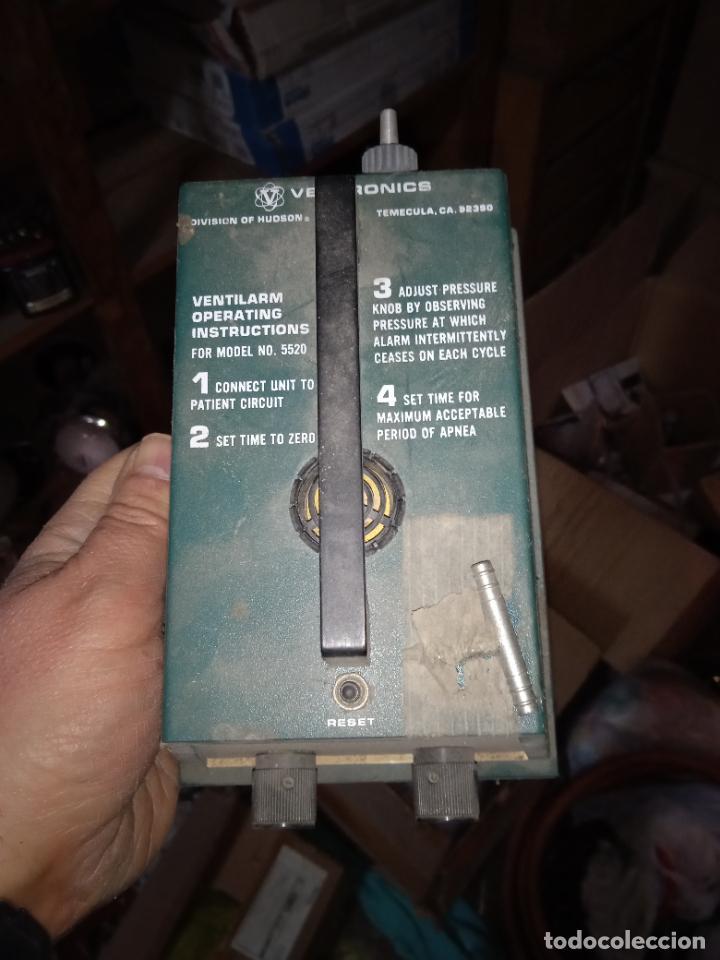 Antigüedades: MONITOR PRESION VIAS RESPIRATORIAS PARA OPERACIONES QUIROFANO VENTILARM 5520 - Foto 2 - 245359490