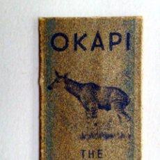 Antigüedades: HOJA DE AFEITAR ANTIGUA,OKAPI,EL FAVORITO.. Lote 245364160
