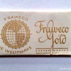 Antigüedades: HOJA DE AFEITAR ANTIGUA,FRAWEKO-GOLD (30 PFENNIG) M.F.W.. Lote 245365830