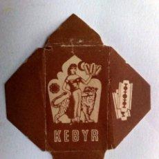 Antigüedades: FUNDA HOJA DE AFEITAR ANTIGUA,KEBYR.. Lote 245366350