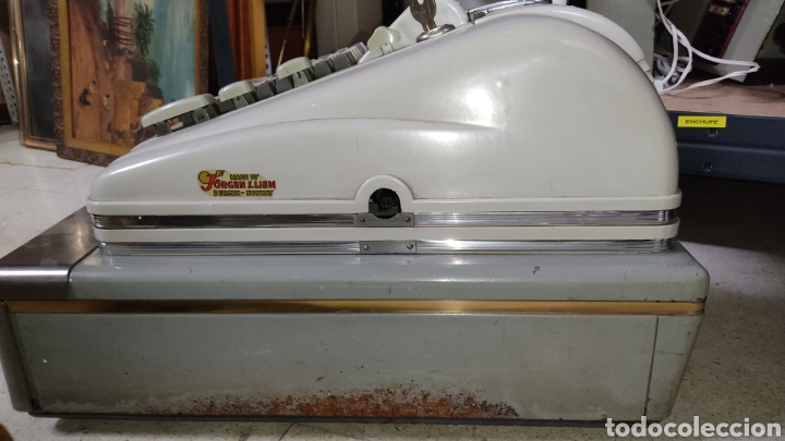 Antigüedades: Caja registradora Regna grande. - Foto 6 - 245373770