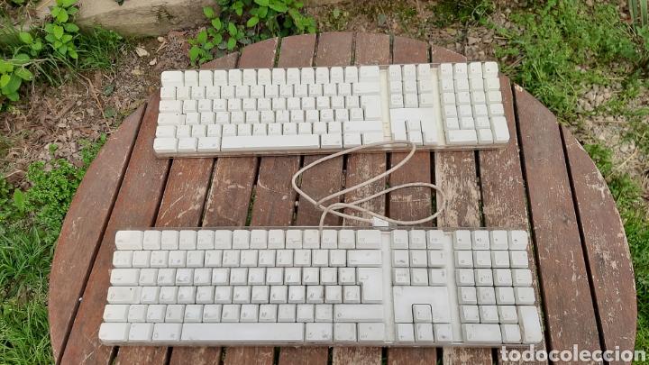 PAREJA DE TECLADOS PARA ORDENADOR APPEL (Antigüedades - Técnicas - Ordenadores hasta 16 bits (anteriores a 1982))