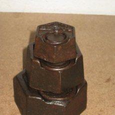 Antigüedades: LOTE DE 3 PONDERALES, PESAS DE 1 KILO, MEDIO KILO Y 200GR.. Lote 245479255