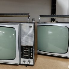 Antigüedades: LOTE 2 TELEVISORES ANTIGUOS IBERIA. TELEVISIÓN.. Lote 245577555