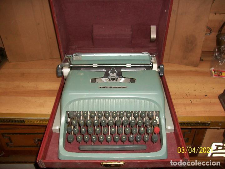 MAQUINA DE ESCRIBIR OLIVETTI-STUDIO 44 (Antigüedades - Técnicas - Máquinas de Escribir Antiguas - Olivetti)