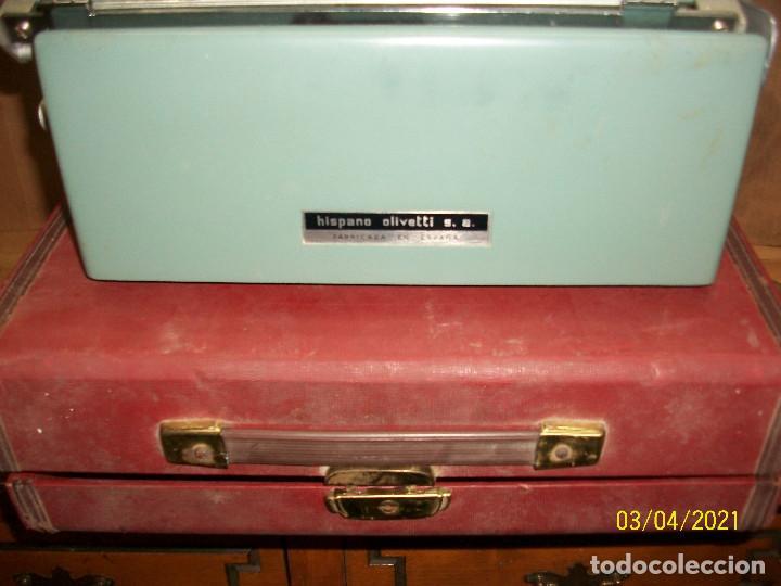 Antigüedades: MAQUINA DE ESCRIBIR OLIVETTI-STUDIO 44 - Foto 5 - 245616680