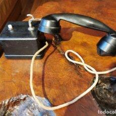 Teléfonos: TELEFONO ANTIGUO SUPLETORIO, MARCA DESCONOCIDA. Lote 245644565