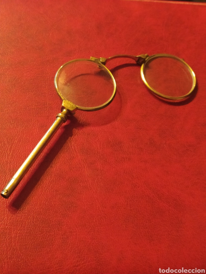 Antigüedades: ANTIGUOS IMPERTINENTES, GAFAS PEGABLES - Foto 2 - 245732340