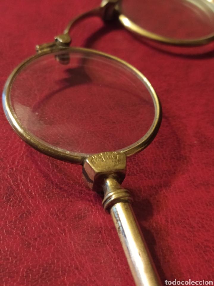 Antigüedades: ANTIGUOS IMPERTINENTES, GAFAS PEGABLES - Foto 10 - 245732340