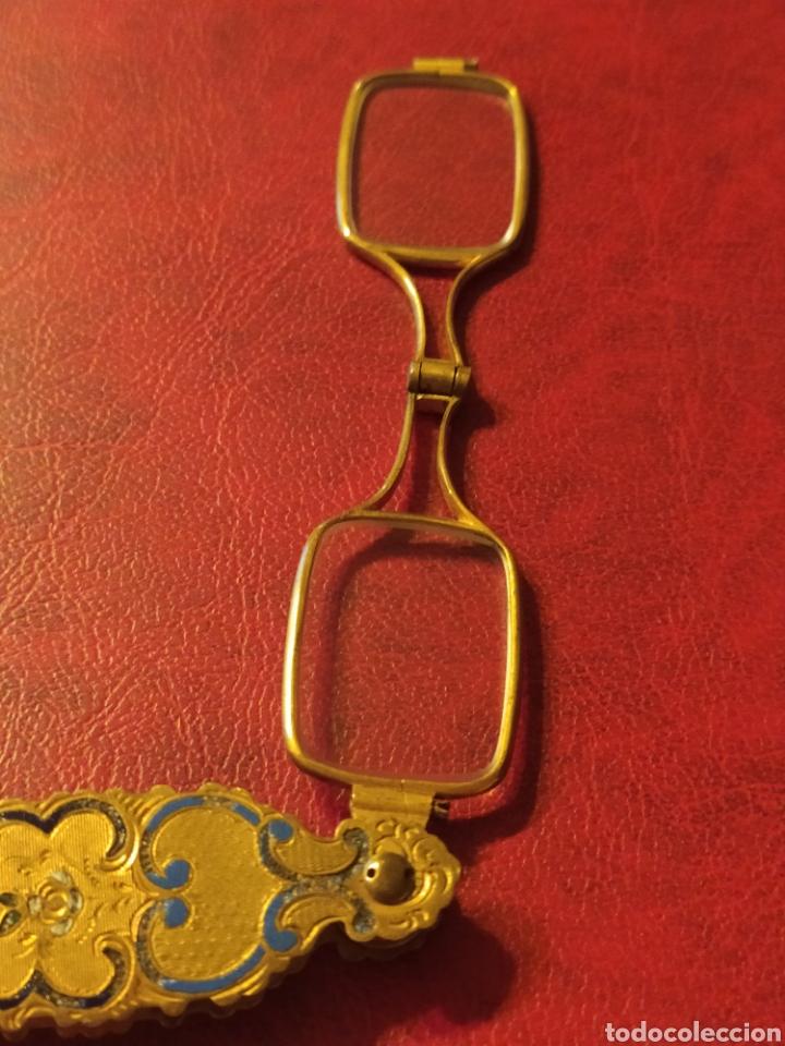 Antigüedades: IMPERTINENTES DE TEATRO O GAFAS PEGABLES BONITOS ADORNOS - Foto 5 - 245733195