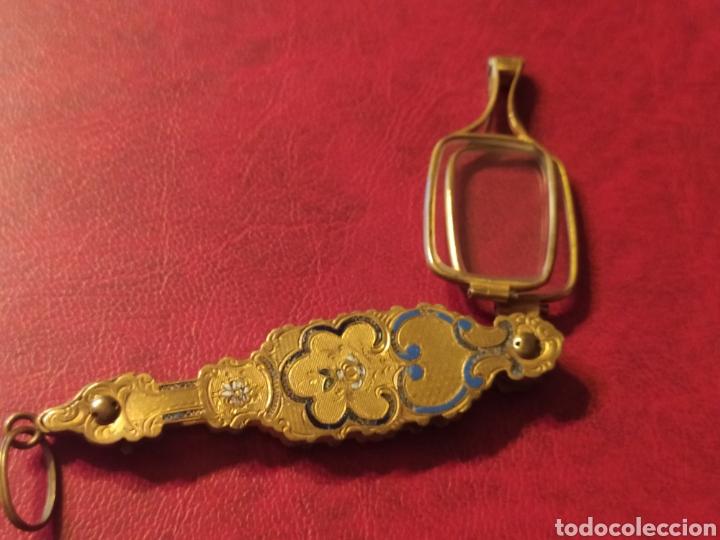 Antigüedades: IMPERTINENTES DE TEATRO O GAFAS PEGABLES BONITOS ADORNOS - Foto 6 - 245733195