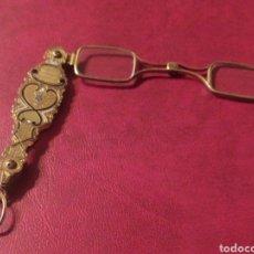 Antigüedades: IMPERTINENTES DE TEATRO O GAFAS PEGABLES BONITOS ADORNOS. Lote 245733195