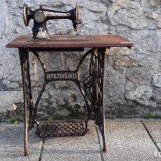 Antigüedades: MAQUINA DE COSER. Lote 245746560