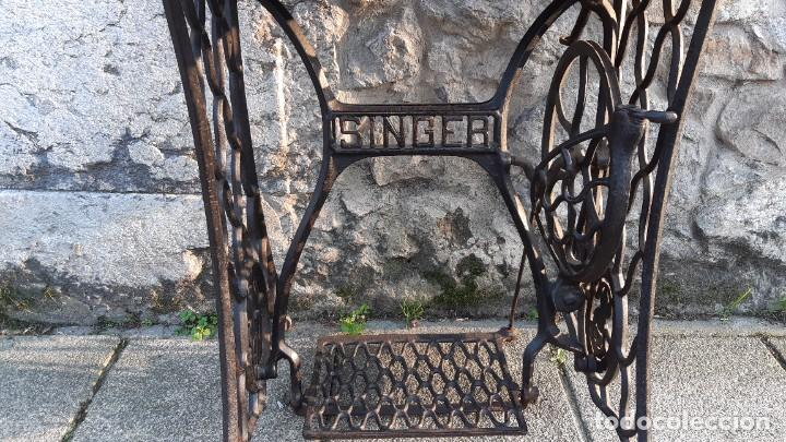 Antigüedades: maquina de coser - Foto 3 - 245746560