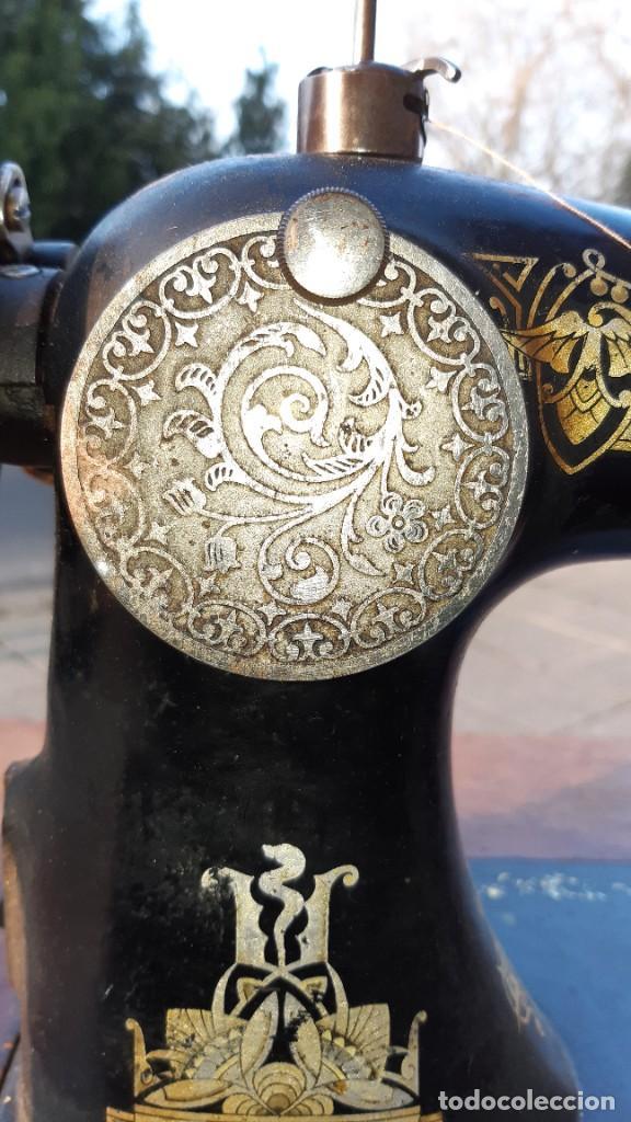 Antigüedades: maquina de coser - Foto 7 - 245746560