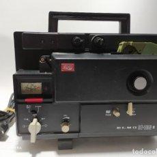 Antigüedades: PROYECTOR CINE 8MM VINTAGE ELMO ST-160 M - MADE IN JAPAN. Lote 245768565