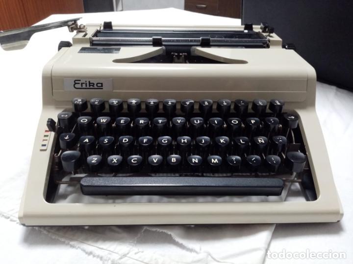 MAQUINA DE ESCRIBIR - ERIKA (Antigüedades - Técnicas - Máquinas de Escribir Antiguas - Erika)