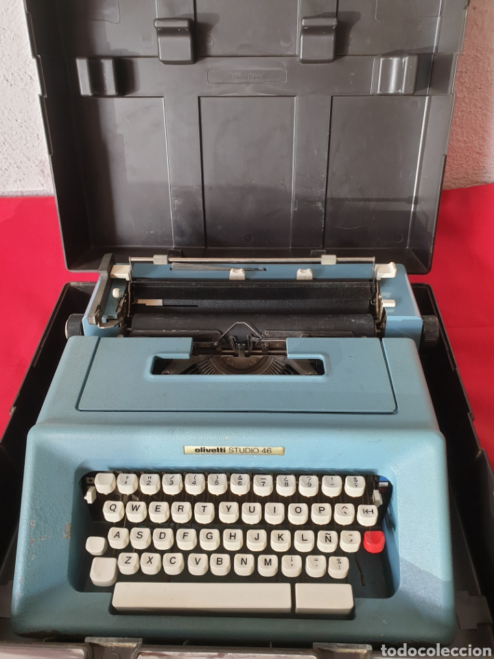 ANTIGUA MAQUINA ESCRIBIR OLIVETTI STUDIO 46 (Antigüedades - Técnicas - Máquinas de Escribir Antiguas - Olivetti)