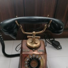 Teléfonos: TELÉFONO DE METAL. Lote 245935075