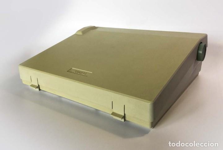 Antigüedades: Máquina de escribir eléctrica Philips VW 2110 Handy Writer - Foto 2 - 245984545