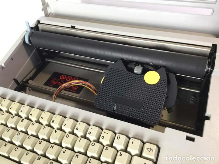 Antigüedades: Máquina de escribir eléctrica Philips VW 2110 Handy Writer - Foto 6 - 245984545