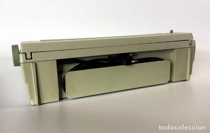 Antigüedades: Máquina de escribir eléctrica Philips VW 2110 Handy Writer - Foto 8 - 245984545