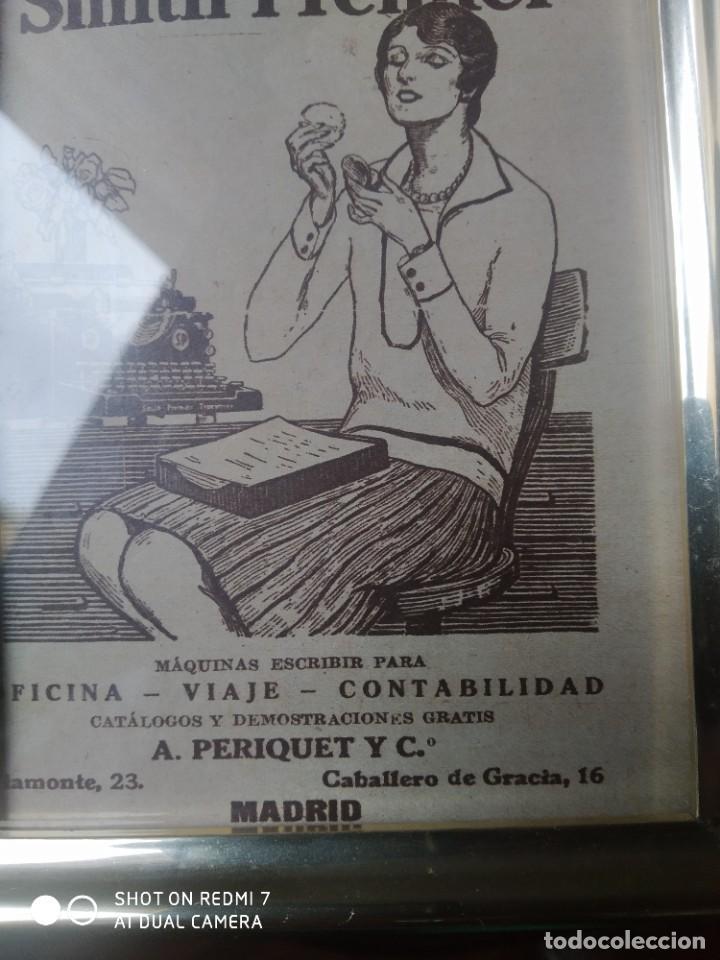 Antigüedades: Máquina de escribir publicidad Smith premier - Foto 4 - 246113170
