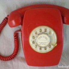 Teléfonos: TELEFONO HERALDO ROJO PARED - CITESA - AÑOS 70 - FUNCIONA. Lote 246135720