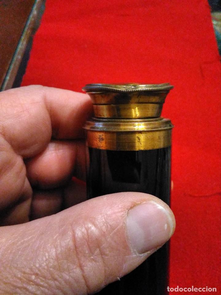 Antigüedades: CATALEJO TELESCOPIO CAMPAÑA ANTIGUO MILITAR - Foto 4 - 246139770