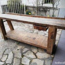 Antigüedades: BANCO DE TRABAJO DE CARPINTERO ANTIGUO. Lote 246240045