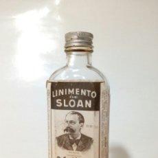 Antigüedades: LINIMENTO DE SLOAN (LAB. SUBSTANCIA, S.A.) Nº SERIE 009136 - CONTIENE LINIMENTO DENTRO - VINTAGE. Lote 246325120