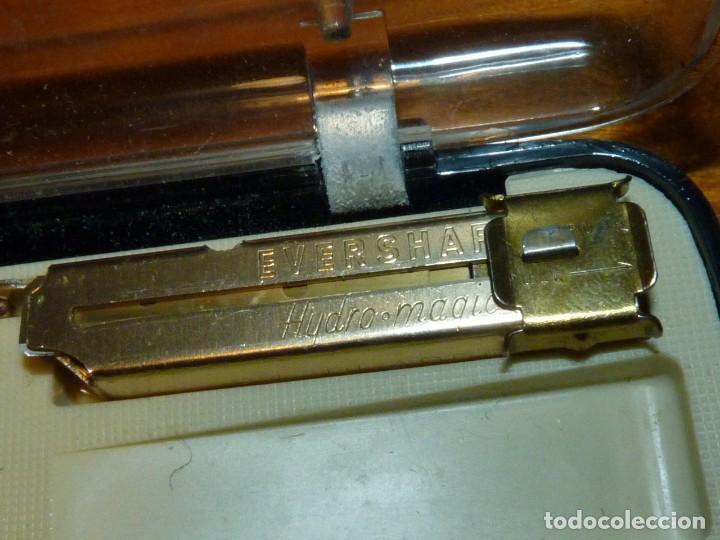 Antigüedades: Coleccionable maquinilla de afeitar Eversharp Hydro-magic USA años 50 estuche original - Foto 4 - 246334870