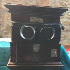 Antigüedades: VISOR ESTEREOSCOPIO. Lote 246348680