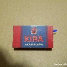 Antigüedades: 10 HOJAS DE AFEITAR , KIRA ACANALADA. Lote 246423595