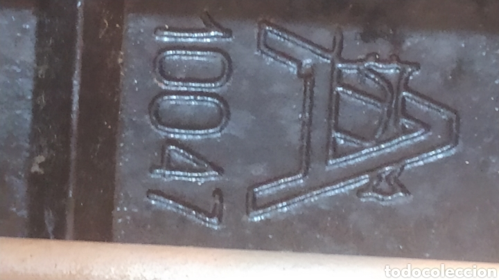 Antigüedades: Máquina de coser Alfa, modelo A o 20 - Fabricada en Éibar años 50 - Foto 23 - 246434545