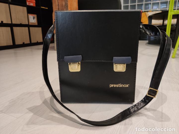 Antigüedades: Proyector diapositivas Prestinox 4r auto - Foto 6 - 246477140