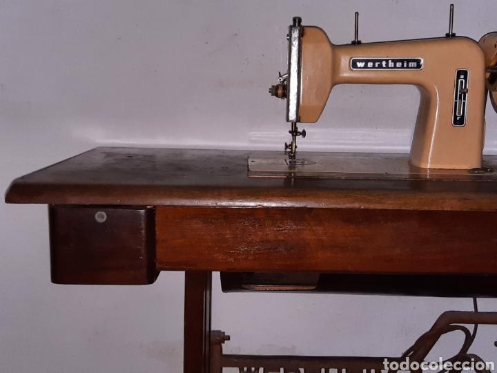 Antigüedades: maquina de coser wertheim - Foto 3 - 246485255
