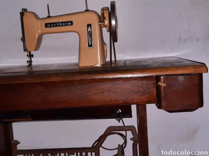 Antigüedades: maquina de coser wertheim - Foto 4 - 246485255