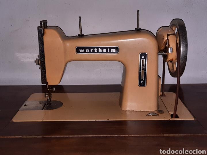 Antigüedades: maquina de coser wertheim - Foto 5 - 246485255