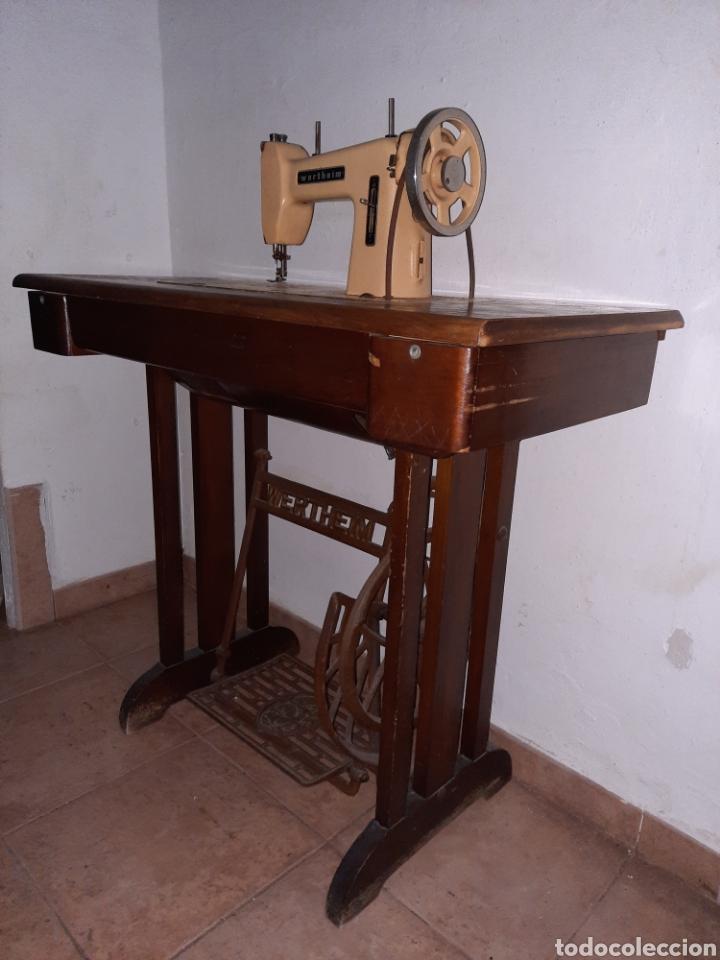 Antigüedades: maquina de coser wertheim - Foto 6 - 246485255
