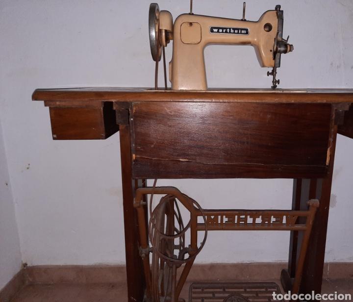 Antigüedades: maquina de coser wertheim - Foto 7 - 246485255