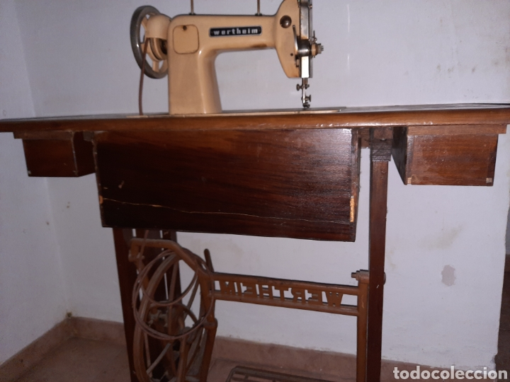 Antigüedades: maquina de coser wertheim - Foto 8 - 246485255