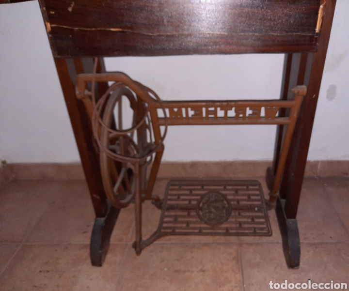 Antigüedades: maquina de coser wertheim - Foto 9 - 246485255