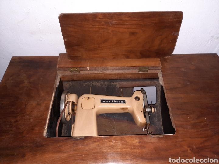 Antigüedades: maquina de coser wertheim - Foto 10 - 246485255