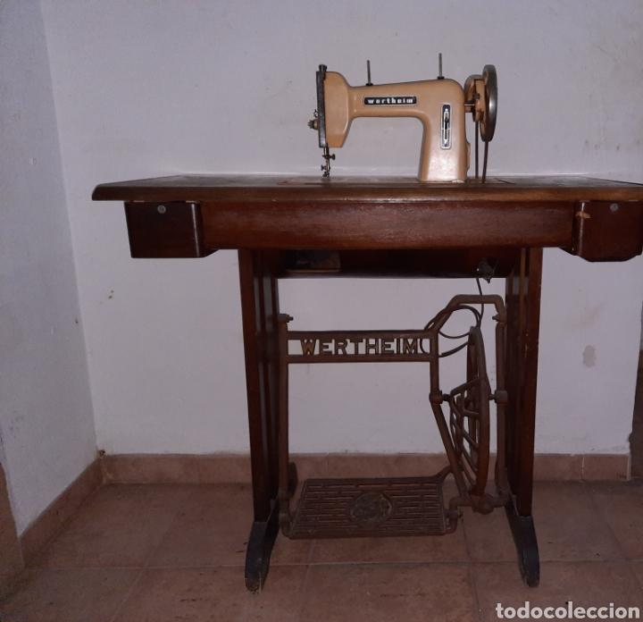MAQUINA DE COSER WERTHEIM (Antigüedades - Técnicas - Máquinas de Coser Antiguas - Wertheim )