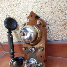 Teléfonos: ANTIGUO TELÉFONO MOD,BC-1300, L.M. ERICSSON STOCKHOLM (SUECIA) - SUPERA UN SIGLO DE ANTIGUEDAD.. Lote 246513685