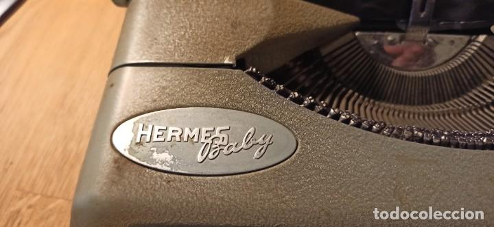 Antigüedades: Máquina de escribir Hermes Baby - Foto 4 - 246565730