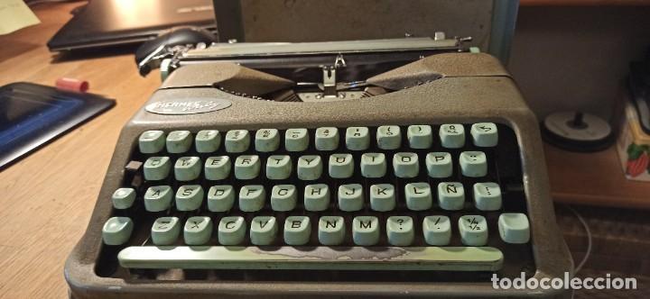 Antigüedades: Máquina de escribir Hermes Baby - Foto 6 - 246565730
